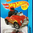 2015 Hot Wheels #74 Pedal Driver Red