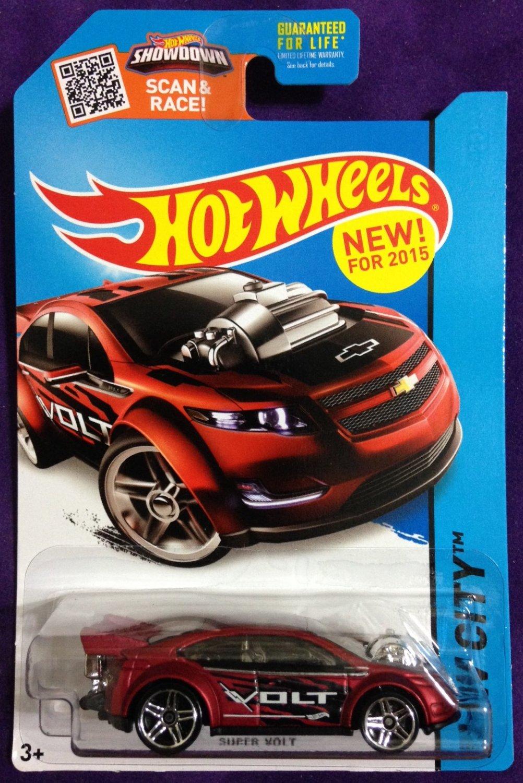 2015 Hot Wheels #22 Super Volt