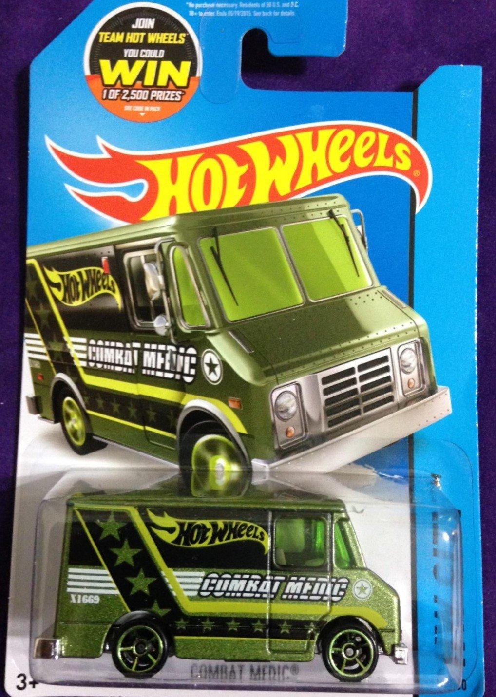 2015 Hot Wheels #47 Combat Medic