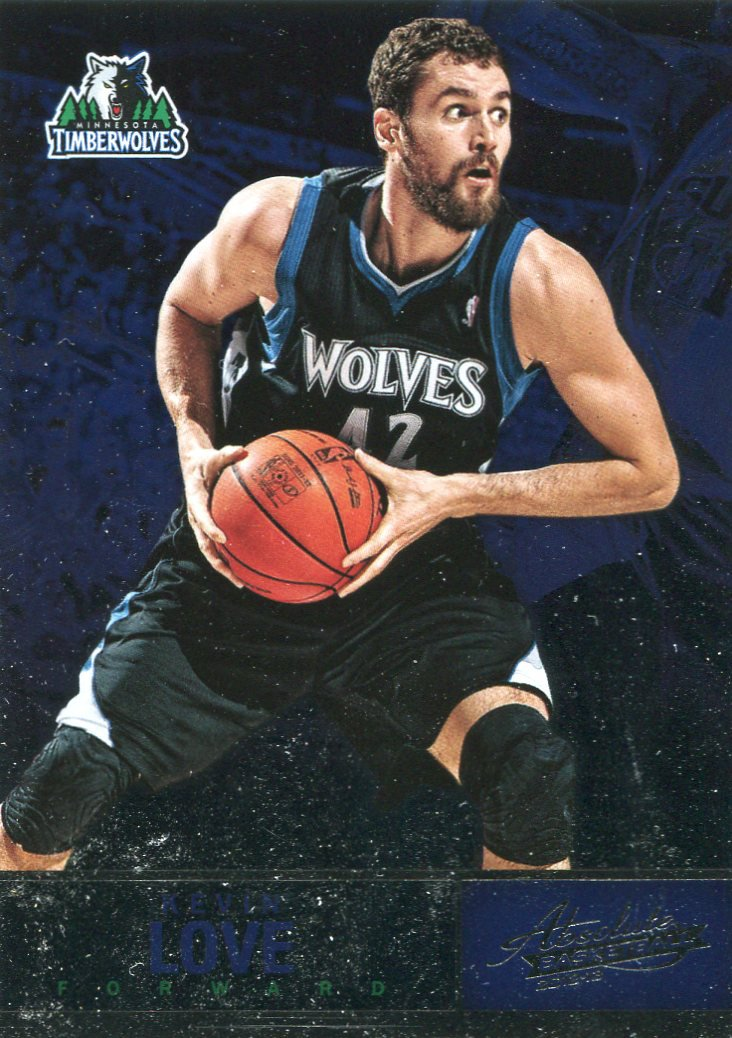 2012 Absolute Basketball Card #1 Kevin Love