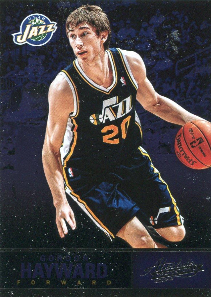 2012 Absolute Basketball Card #43 Gordon Hayward