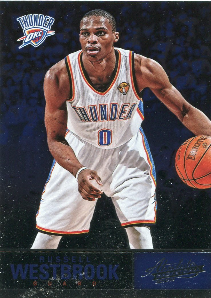 2012 Absolute Basketball Card #45 Russell Westbrook
