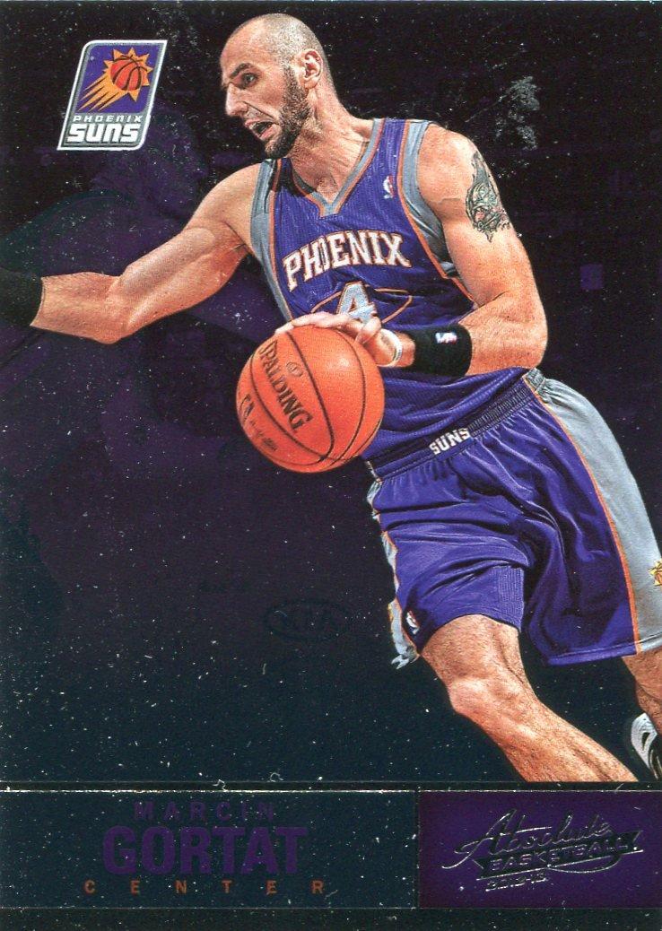 2012 Absolute Basketball Card #47 Marcin Gortat