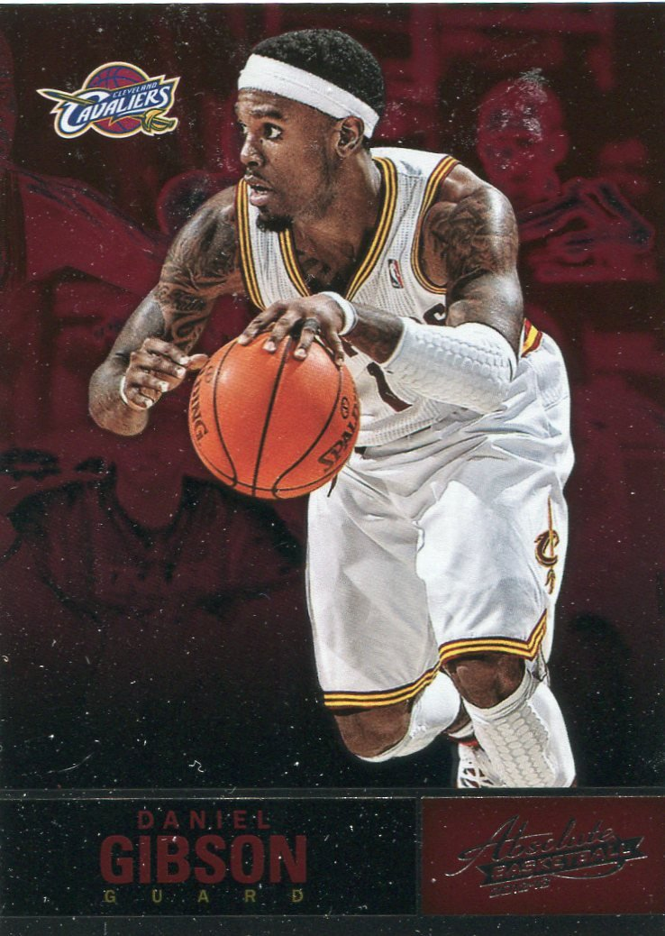 2012 Absolute Basketball Card #61 Daniel Gibson
