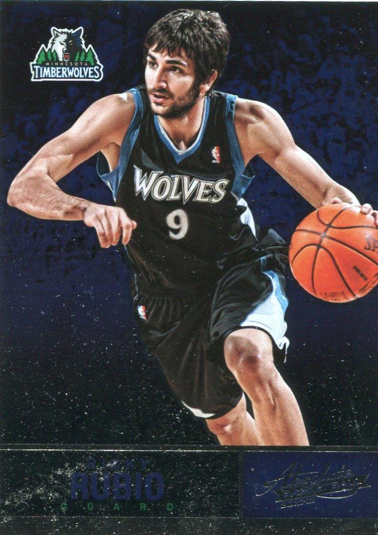 2012 Absolute Basketball Card #64 Ricky Rubio