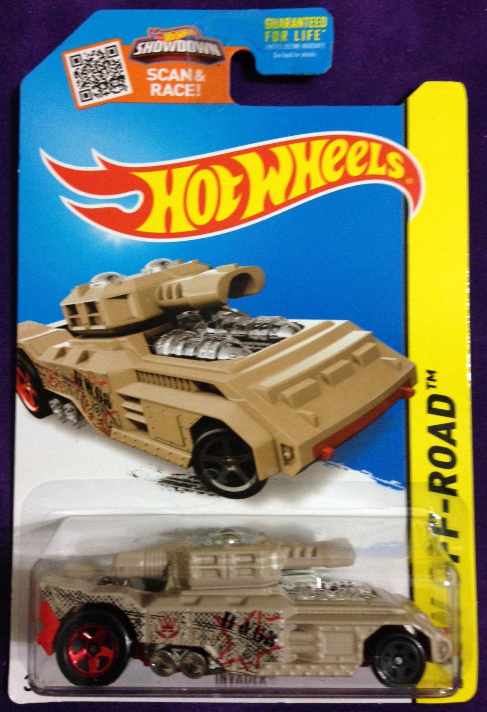 2015 Hot Wheels #87 Invader