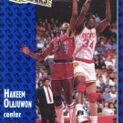 1991 Fleer Basketball Card #223 Hakeem Olajuwon