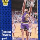 1991 Fleer Basketball Card #227 Blue Edwards