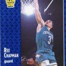 1991 Fleer Basketball Card #229 Rex Chapman