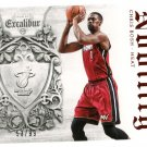 2014 Excalibur Basketball Card Nobility #15 Chris Bosh