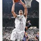 2015 Hoops Basketball Card #57 Brook Lopez