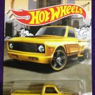 2016 Hot Wheels Trucks #2 Custom 69 Chevy Pickup
