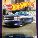 2016 Hot Wheels Trucks #7 Chevy Silverado