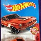 2016 Hot Wheels #105 68 Shelby GT500 ORANGE