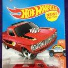 2016 Hot Wheels #148 Custom 72 Chevy Luv RED