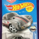 2016 Hot Wheels #120 Porsche 356A Outlaw SILVER