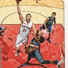 2015 Hoops Basketball Card #121 Greivis Vasquez