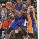 2015 Hoops Basketball Card #128 Rudy Gay