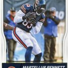 2016 Score Football Card #58 Martellus Bennett