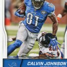 2016 Score Football Card #110 Calvin Johnson