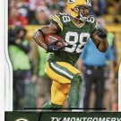 2016 Score Football Card #124 Ty Montgomery