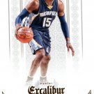 2014 Excalibur Basketball Card #93 Vince Carter