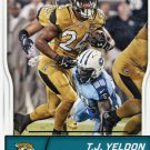 2016 Score Football Card #149 T Y Yeldon