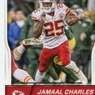 2016 Score Football Card #159 Jamaall Charles