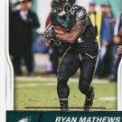 2016 Score Football Card #240 Ryan Mathews