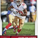 2016 Score Football Card #273 Carlos Hyde