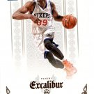 2014 Excalibur Basketball Card #198 Jerami Grant
