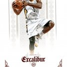 2014 Excalibur Basketball Card Red #135 Tyreke Evans