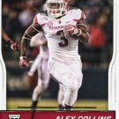 2016 Score Football Card #349 Alex Collins
