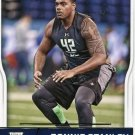 2016 Score Football Card #387 Ronnie Stanley