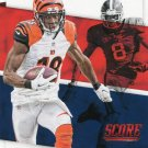 2016 Score Football Card All American #22 A J Green