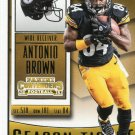2015 Panini Contenders Football Card #59 Antonio Brown