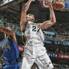 2015 Hoops Basketball Card #138 Rudy Gobert