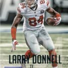 2015 Prestige Football Card #43 Larry Donnell