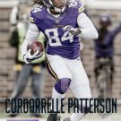 2015 Prestige Football Card #101 Cordarrelle Patterson