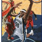 2013 Hoops Basketball Card #42 Zach Randolph