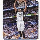 2015 Hoops Basketball Card #165 Anthony Davis
