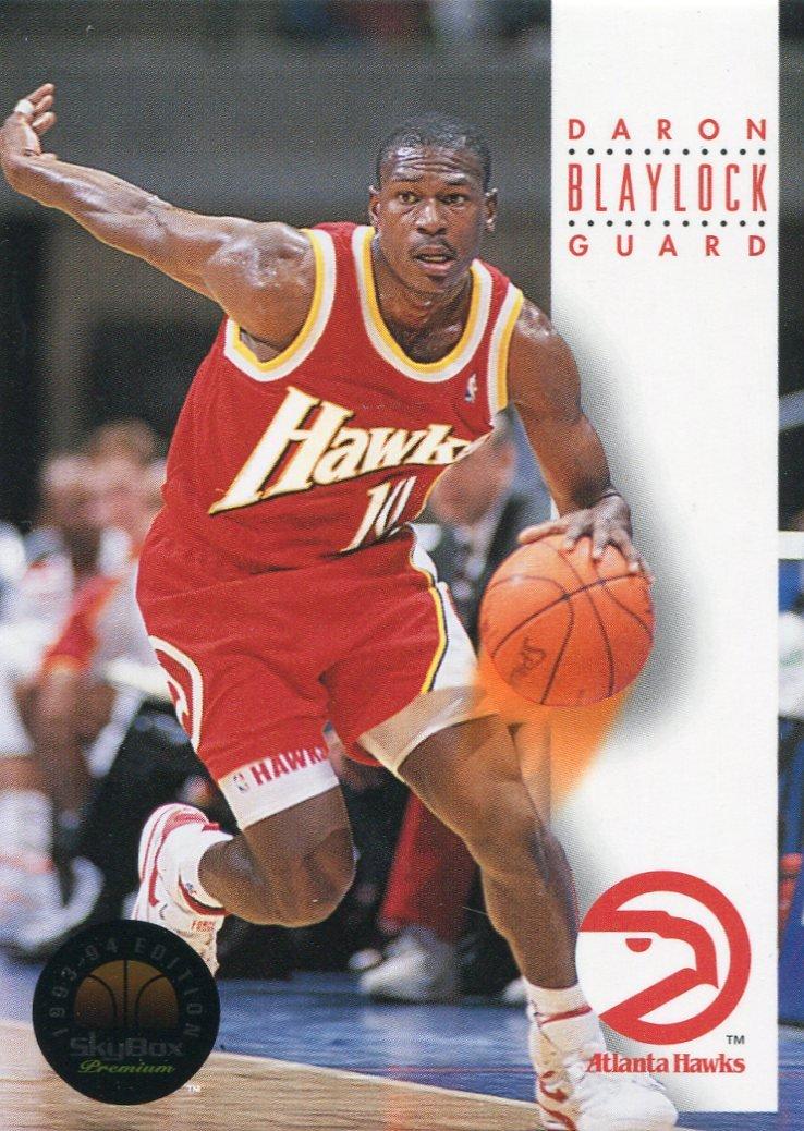 1993 Skybox Basketball Card #25 Mookie Blaylock