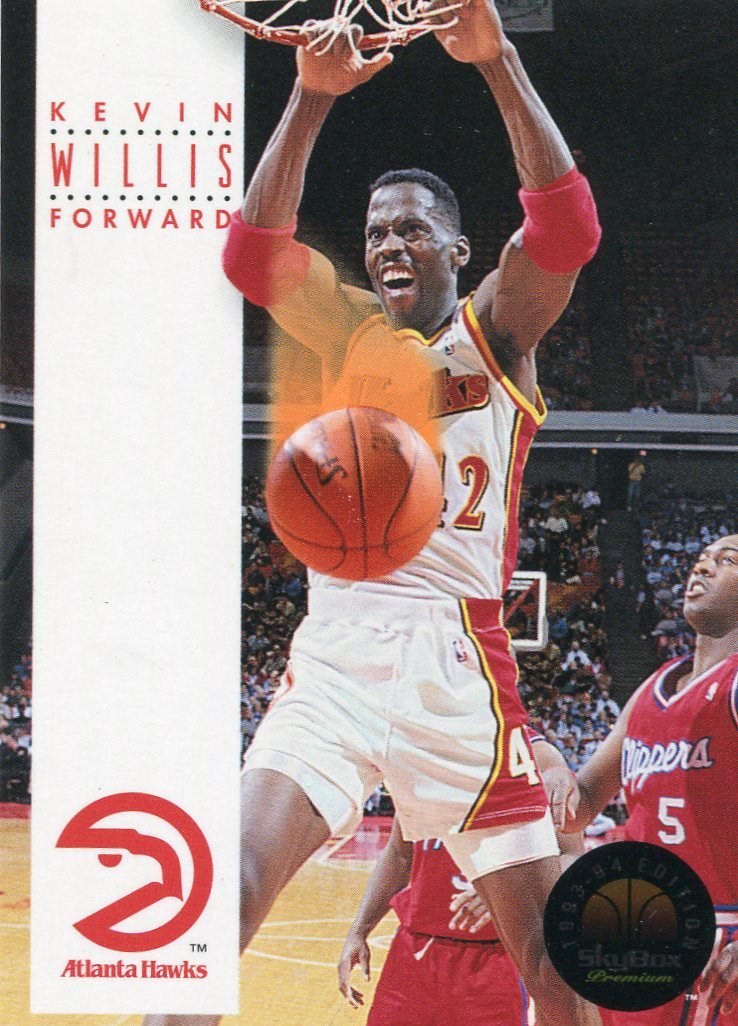 1993 Skybox Basketball Card #29 Kevin Willis