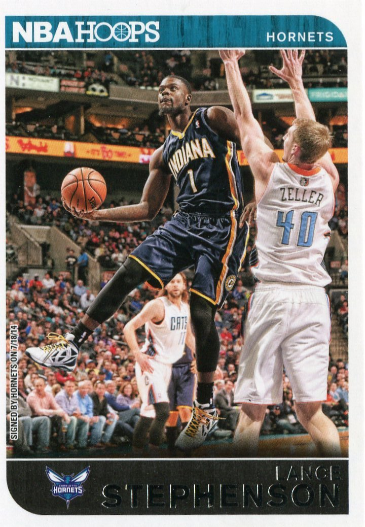 2014 Hoops Basketball Card #105 Lance Stephenson