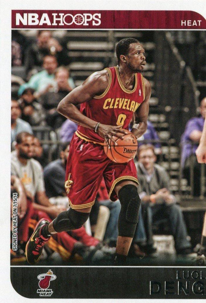 2014 Hoops Basketball Card #151 Luol Deng