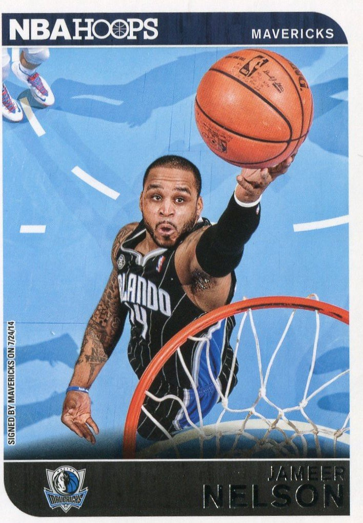 2014 Hoops Basketball Card #159 Jameer Nelson