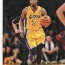 2014 Hoops Basketball Card #160 Xavier Henry
