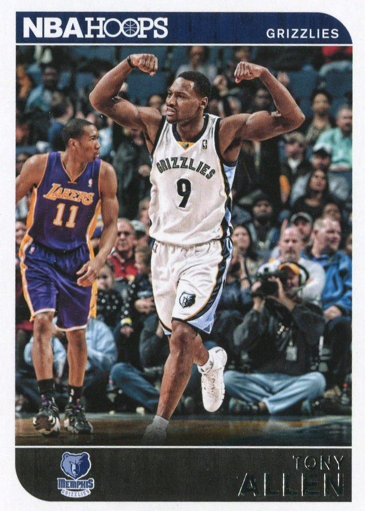 2014 Hoops Basketball Card #168 Tony Allen