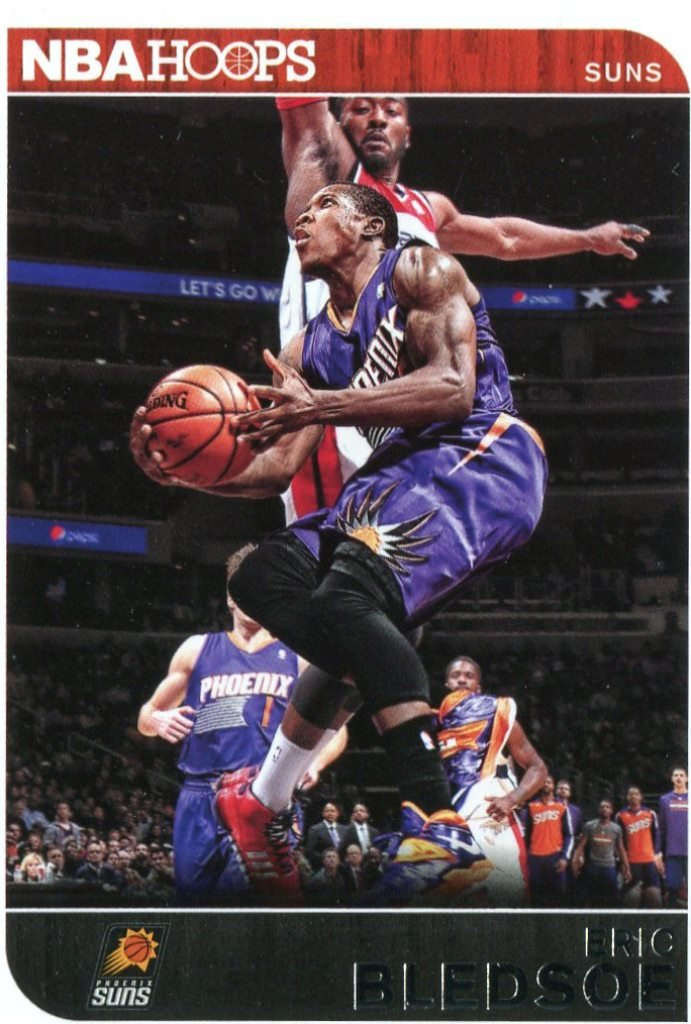 2014 Hoops Basketball Card #204 Eric Bledsoe