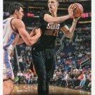 2014 Hoops Basketball Card #214 Alex Lin